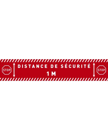 Distance de sécurité marquage au sol