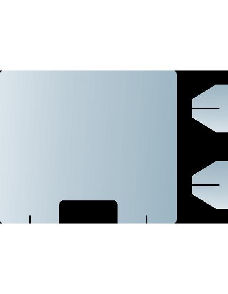 Paroi anti-postillons largeur 75cm